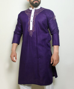 Indigo Stylish Design Kurta ARK-1022