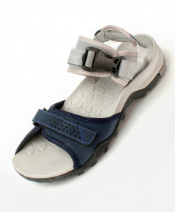Gray Dual Tone Stylish Design Casual Sandal DR-719