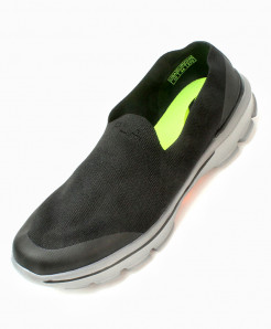 Black Stylish Design Casual Slip-On Shoes DR-720