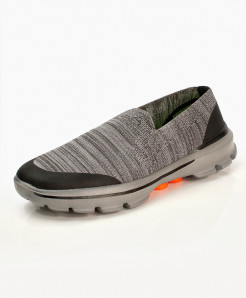 Gray Stylish Design Casual Slip-On Shoes DR-721