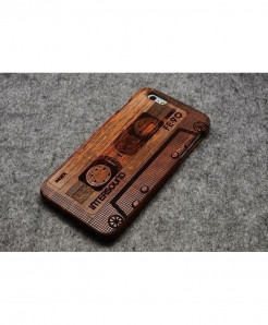 LYBALL Tape Wooden Phone Case For iPhone