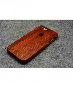 LYBALL Plain Wooden Phone Case For iPhone