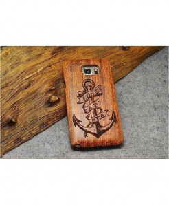 LYBALL Wood Bamboo Hard Cover Wooden Phone Case