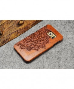 LYBALL Wooden Phone Case Bamboo Hard Cover