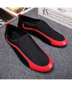 YanCloud Black Breathable Loafers