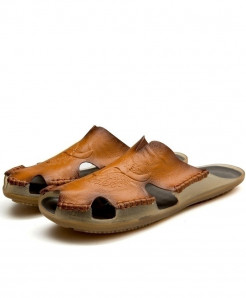 ZUNYU Brown Non-slip Slippers