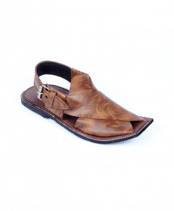 Brown Shaded Peshawari Chappal MZ-033