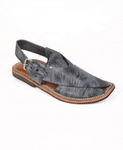 Grey Shaded Peshawari Chappal MZ-035