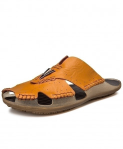 ZUNYU Brown Non-slip Classic Slippers