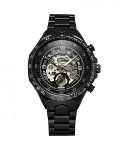 WINNER Black Stylish Mechanical Watch