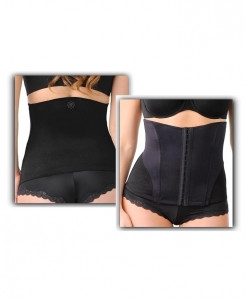 Black Designed Slimming Shape Wear SIK-064
