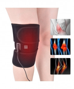 Arthritis Knee Support Brace Infrared Heating Treatment