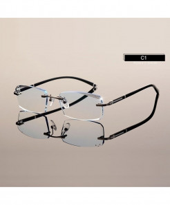 HOTOCHKI Eyeglasses Cutting Rimless Optical Frame