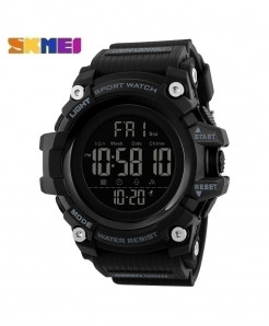 SKMEI Black Countdown Stopwatch Sport Watch