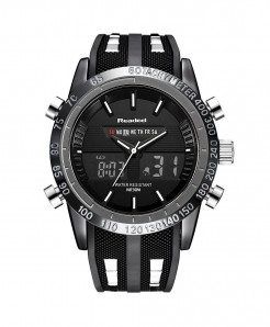 Readeel Black Waterproof LED Digital Quartz Watch