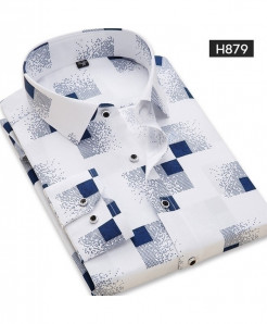 DAVYDAISY White Casual Print Full Sleeve Stylish Shirt