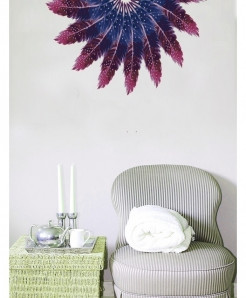 Floral Stylish Design Wall Decal BNS-444