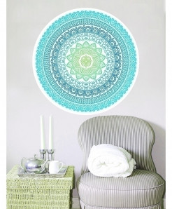 Round Pattern Stylish Design Wall Decal BNS-440