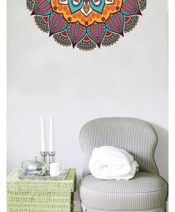Varicolored Pattern Stylish Design Wall Decal BNS-433