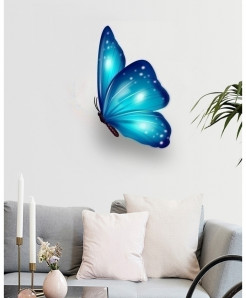 Butterfly Stylish Design Wall Decal BNS-428