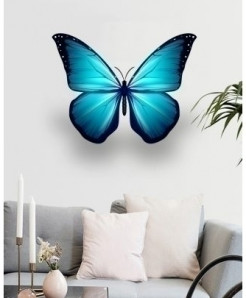 Butterfly Stylish Design Wall Decal BNS-426