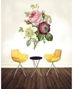 Floral Stylish Design Wall Decal BNS-418