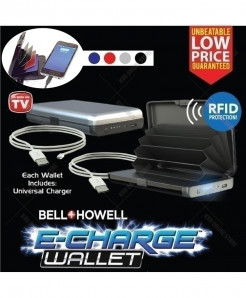 Deluxe Portable Power Bank Wallet QE-22