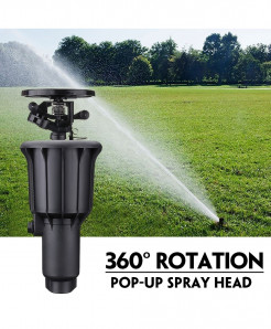 Integrated High Pressure 360 Degrees Rotating Sprinkler