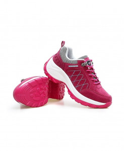 Qixing Rose Comfortable Breathable Platform Casual Shoes
