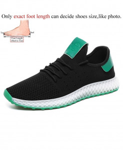 Abnkarwin Black Zapatillas Hombre Mesh Stylish Casual Shoes