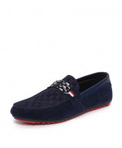 ZYYZYM Blue Light Breathable Casual Loafers