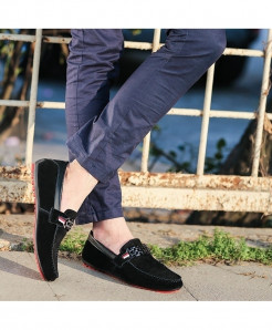 ZYYZYM Black Light Breathable Casual Loafers