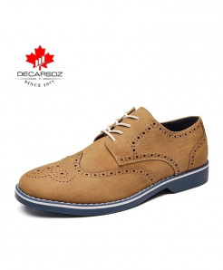 WENKOUBAN Camel Lace-up Zapatillas Casual Shoes