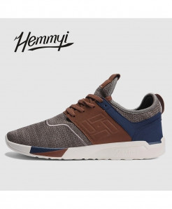 Hemmyi Brown Breathable Wear-Resistant Light Casual Shoes
