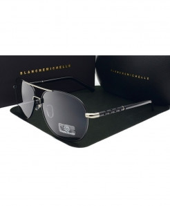 Blanche Michelle Black Polarized Sun Glasses