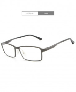 HDCRAFTER Gun Gray Lightweight Glasses