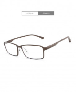 HDCRAFTER Brown Lightweight Glasses