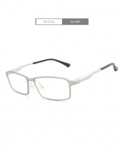 HDCRAFTER Silver Lightweight Glasses