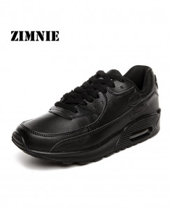 ZIMNIE Black Mesh Lightweight Breathable Sports Shoes