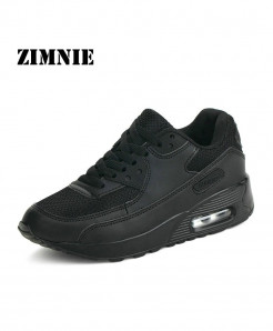 ZIMNIE Black Air Mesh Lightweight Breathable Sports Shoes