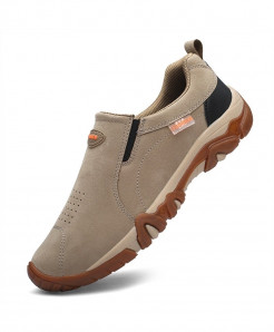PUAMSS Yellow Breathable Outdoor Non-Slip Casual Shoes