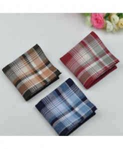 Pack Of 3 Soft Cotton Pocket Handkerchief