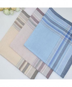 Pack Of 3 Soft Cotton Square Handkerchief