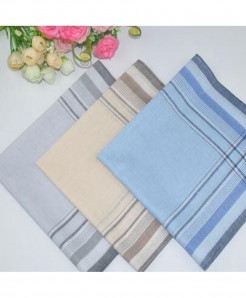 Pack Of 3 Soft Classic Cotton Handkerchief