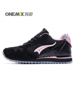 ONEMIX Black Pink Retro Classic Casual Shoes