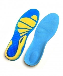 DUOYANG Silicone Arch Support Orthopedic Gel Massaging Insoles