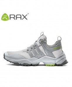 RAX Gray Anti-skid Vintage Breathable Sports Shoes