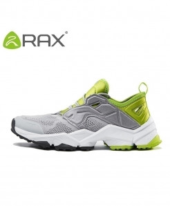 RAX Gray Anti-skid Breathable Sports Shoes