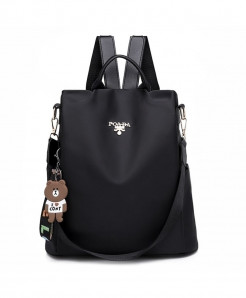 DIZHIGE Black Oxford Style Backpack