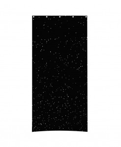 Black Dotted light Design Roller Blind Curtains